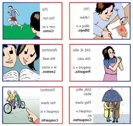 böjning av spanska verb ir